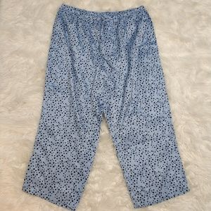 Cacique 22/24 Navy on Baby Blue Star PJ Pants